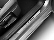 Seat Leon Stainless Steel Front Entry Panels Door Trim Strips Sill Panels Fr 13-