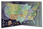 2 Us Quarters Coin Map State Series Collectors Map 2 Display Maps Lot All States