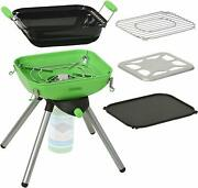 Camping Grill - Multi Functional Portable Table Top Bbq Propane Grill Griddle