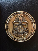Authentic Office Of Border Patrol Customs Border Protection Patrol Agent Coin-72