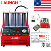 Launch Cnc602a Car Ultrasonic Cleaning Fuel Injector Cleaner Tester Machine