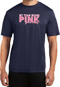 Buy Cool Shirts Breast Cancer T-shirt My Team Wears Pink Moisture Wicking Tee