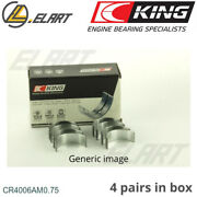 Conrod Bigend Bearings +0.75mm For Renaultcitroenpeugeotjeep1818 Variable