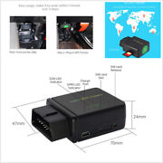 3g Gps Lbs Tracker Car Truck Obd2 Real Time Tracking Device Anti Theft Alarm Gms