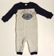 Nwt Baby Boyand039s Long Sleeve One Piece Romper Size 6 Months