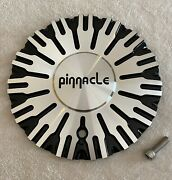 Pinnacle P50 Swagg Black Machined Center Cap New /w Bolt Part 120s190-mal