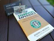 Starbucks Book The Starbucks Experience By Joseph A. Michelli With Card Seattle