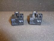G8p-1a4tp-dc12 Omron Relay Spst No 30a 250vac 12vdc Coil Sealed Lot Of 2