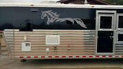 Horse Decal Sticker Graphic Horse Trailer Equestrian Rv Decal Stickers 23x60
