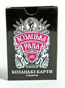 New 36 Souvenir Ukrainian Playing Cards Deck Cossack Council Gift For Him