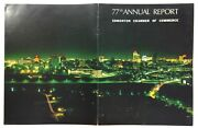1966 Edmonton Chamber Of Commerce Alberta Canada 77th Annual Report Officers