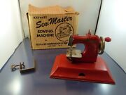 Kayanee Sew Master Sewing Machine Made In Us Zone Berlin Germany W Box And Clamp