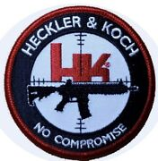 Velc. Hk Firearms Heckler And Koch No Compromise Mp5 Tactical Airsoft Patch