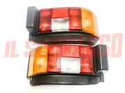 Lights Rear Right Left + Lights License Plate Autobianchi A112 6 7 S + Abarth