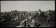 Glass Magic Lantern Slide Somme Battle German Prisoners July 8 1916 Ww1 Photo
