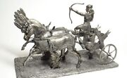 Tin Soldier Figure. The Egyptian Chariot 54 Mm