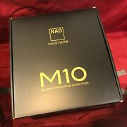 Brandnew Nad M10 Bluos Streaming Media Stereo Amplifier W/ A9 And Airplay 2