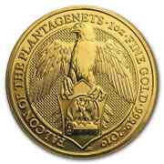 2019 Great Britain 1 Oz Gold Queenand039s Beasts The Falcon - Sku173237