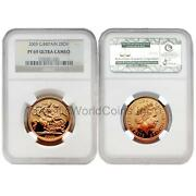 Great Britain 2003 2 Sovereign Ngc Pf 69 Ultea Cameo