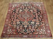 Old Wool Hand Made Oriental Floral Runner Area Rug Carpet 208x133cm