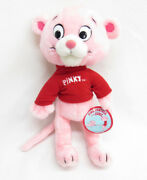 Vtg Mighty Star Son Of Pink Panther Pinky Plush Doll