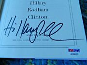What Happened Signed By Hillary Rodham Clinton 2017 Hardcover Psa/dna Ad88123