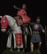 Wounding Richard Lionheart King Of England Painted Toy Soldier Pre-sale  museum