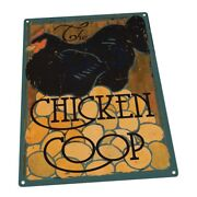 The Chicken Coop Farm, Fresh Eggs And Poultry Metal Sign Wall Decor For Farm
