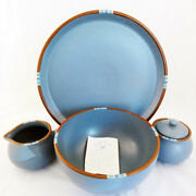 Mesa Sky Blue By Dansk 5 Piece Completer Set New Never Used New In Box