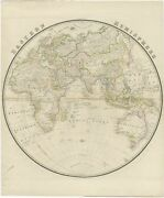 Antique Map Of The Eastern Hemisphere By Wyld 1842