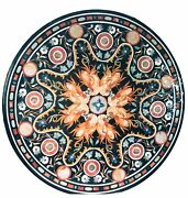 3and039x3and039 Marble Top Dining Table Mosaic Grand Pietradure Inlay Home Garden Decor