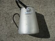 Original Wwii German Kriegesmarine Aluminum Coffe Pot Nicely Marked And Dated