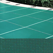 Meyco 20 X 40 Rectangle Permaguard Green Safety Pool Cover W/ No Drains