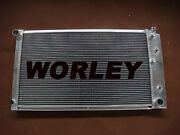 3 Rows Aluminum Radiator For Chevy Small Block And Bel Air And Impala L6 V8 1973-80