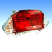 Tail Light Complete With Bulbs White Indicator For Sachs 49er 50 4t 12 Rad