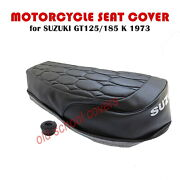 Motorcycle Seat Cover Suzuki Gt125k Gt185k 1973 Model And Strap
