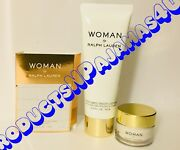 Lot Of 3ralph Lauren Woman Perfumed Body Lotion +body Cream + Carded Sample