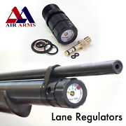 Air Arms Compatable Quickfill And Pressure Gauge By Lane Regulators Made In Uk.