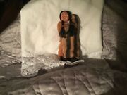 Vintage Skookum Dolls Celluloid Face Native American Indian Doll Mother And Baby