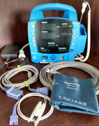 Ge Dinamap Procare 400 Vital Signs Monitor Spo2 Nibp And Temp W/ Warranty Complete