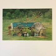 Artifacts Of Pioneer Life Are Today's Valued Antiques Unposted Postcard