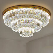 Modern Fashion K9 Crystal Ceiling Lamps Led Chandeliers Lighting Fixture 1398