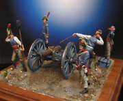 Spanish Artillery At Peninsular War Tin Painted Toy Soldier Pre-sale   Art