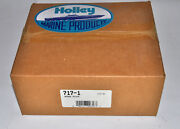 Holley Wedge Plate 7alum 1thick Square Bor Flange Base Insulator Part 717-1