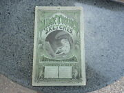Mark Twainandrsquos Sketches By Mark Twain. Very Scarce 1st Ed 1st Issue In Wraps 1874