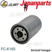 Fuel Filter For Fiat,jeep,kia,dodge,ssangyong Freemont,jc,jf Japanparts Fc-k18s