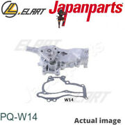 Water Pump For Opel,chevrolet Astra J Sports Tourer,a 14 Xer Japanparts Pq-w14