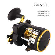 3bb 61 Trolling Reel Line Counter Saltwater Sea Boat Fishing Conventional