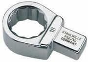 Stahlwille 5822 Series 17 Mm Ring Torque Wrench Insert Alloy Steel 9 X 12mm