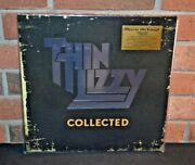Thin Lizzy - Collected Limited Import 180g 2lp Silver Vinyl Foil And039d Sealed